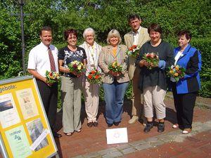 Vorstand des KISS Schwerin e.V. im Jahr 2006